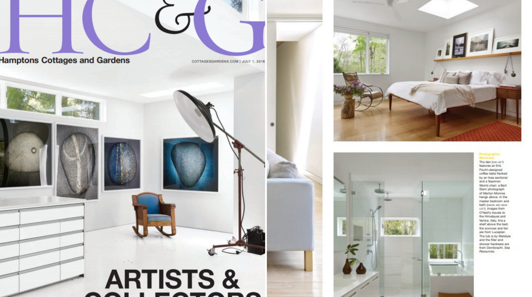 Hamptons cottage and gardens july 2018 - cube collection