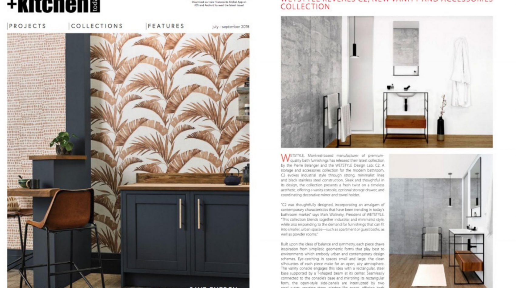 bathroom + kitchen summer 2018 tabloid - c2 collection