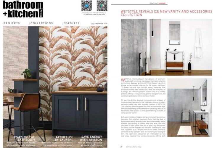 bathroom + kitchen summer 2018 tabloid - c2 collection