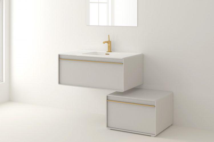 deco wall mount vanity