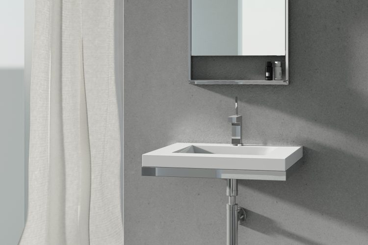 floating sink decorative