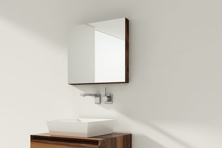 m mirrored cabinet