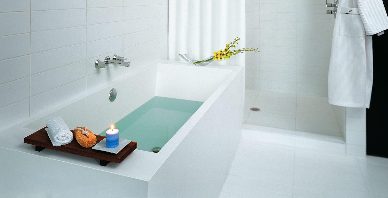 cube bathtub