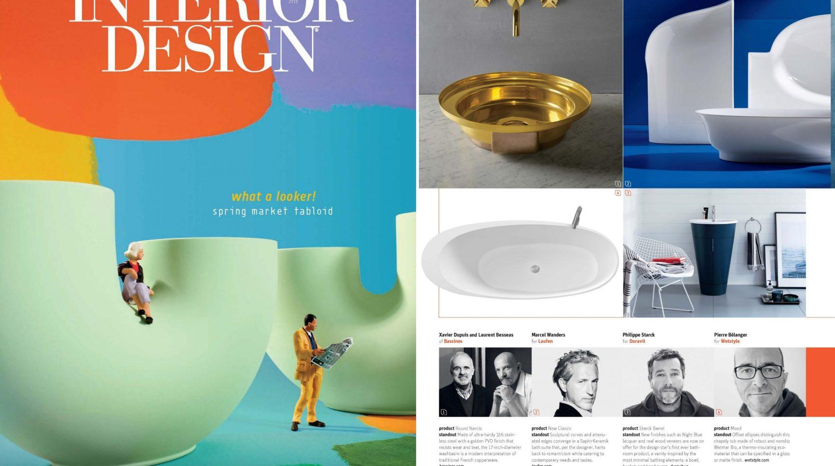 Mood Bathtub in Interior Design Spring Market Tabloid 2019